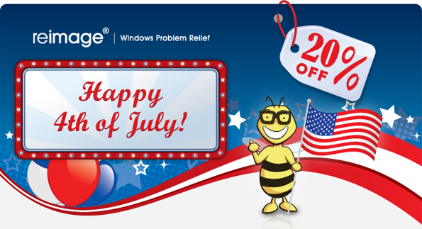 Happy 4th of July- 20% Off