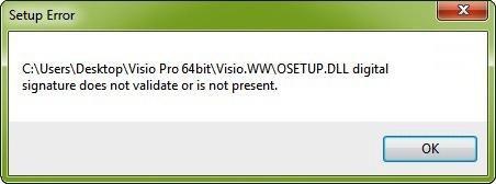 Fix Osetup.dll Error